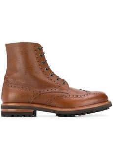 Brunello Cucinelli brogue-detail boots