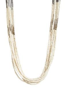 Brunello Cucinelli Beaded Multistrand Necklace