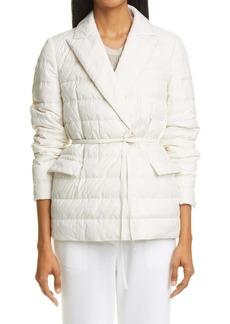 Brunello Cucinelli Belted Quilted Jacket