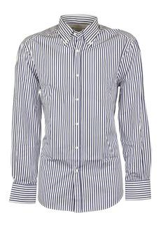 Brunello Cucinelli Blue Striped Shirt