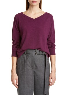 Brunello Cucinelli Boyfriend Cashmere Sweater (Nordstrom Exclusive Color)