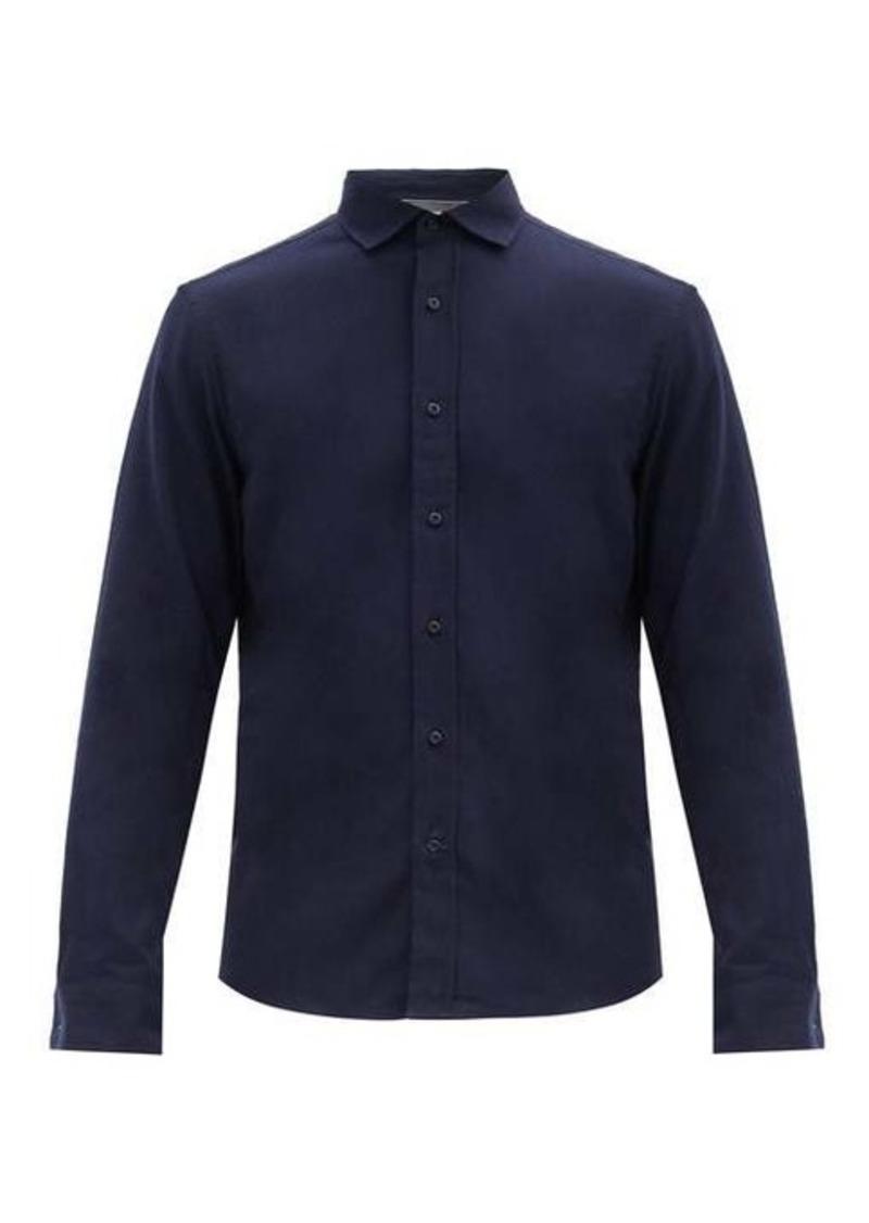 Brunello Cucinelli Button-down cotton-twill shirt