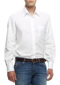 Brunello Cucinelli Button-Down Shirt  White