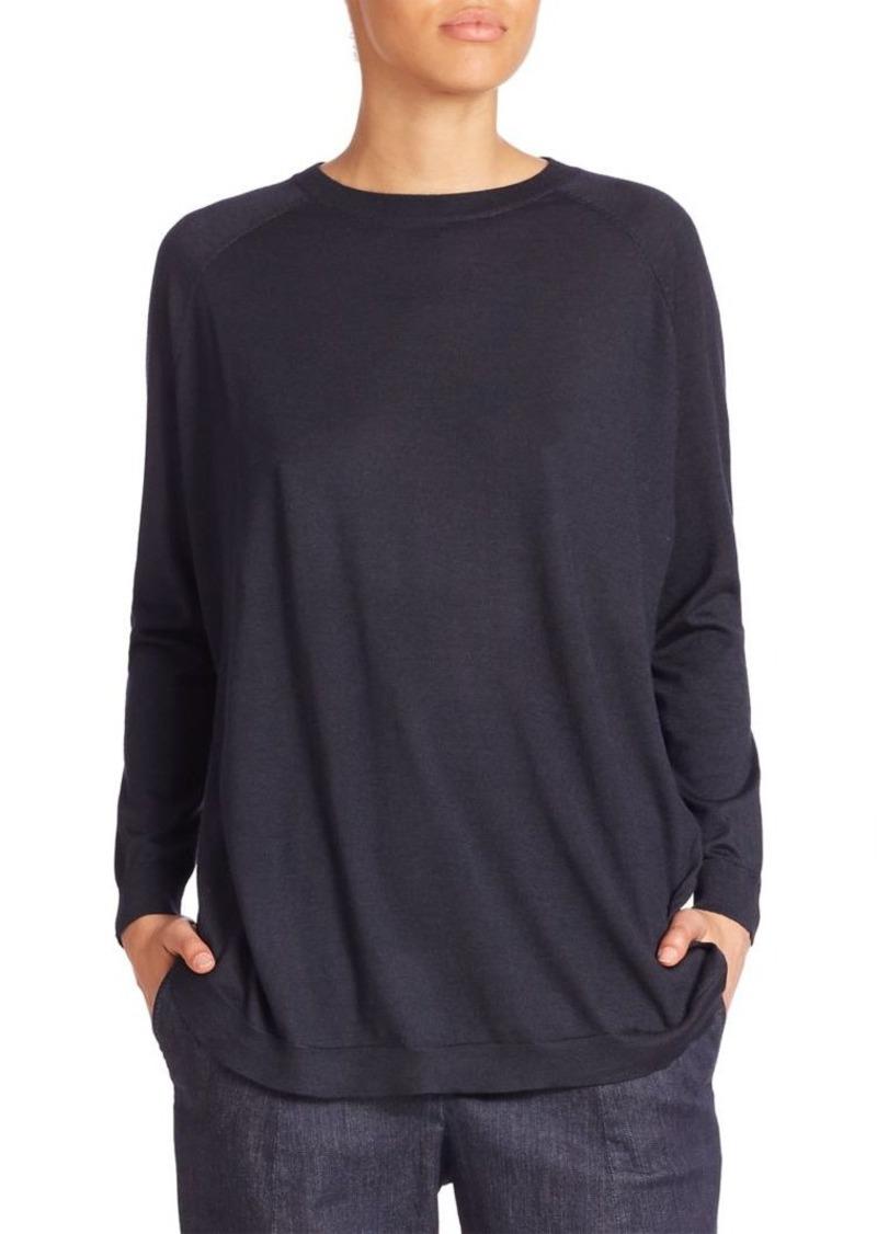 Brunello Cucinelli Cashmere & Silk Pullover
