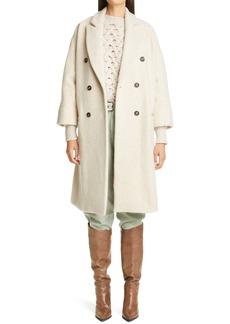Brunello Cucinelli Cashmere Blend Double Breasted Coat