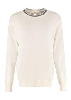 Brunello Cucinelli Cashmere Crew-neck Sweater
