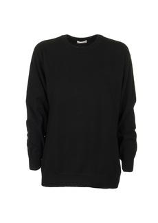Brunello Cucinelli Cashmere Crew Neck Sweater Black