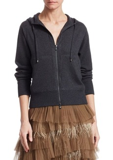 Brunello Cucinelli Cashmere Zip-Up Hoodie