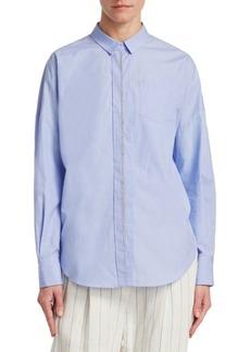 Brunello Cucinelli Chambray Pocket Shirt