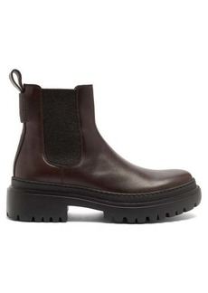 Brunello Cucinelli Chelsea leather ankle boots