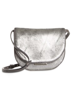 Brunello Cucinelli City Moonlight Metallic Genuine Calf Hair Shoulder Bag