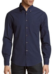 Brunello Cucinelli Cotton Button-Down Collar Shirt