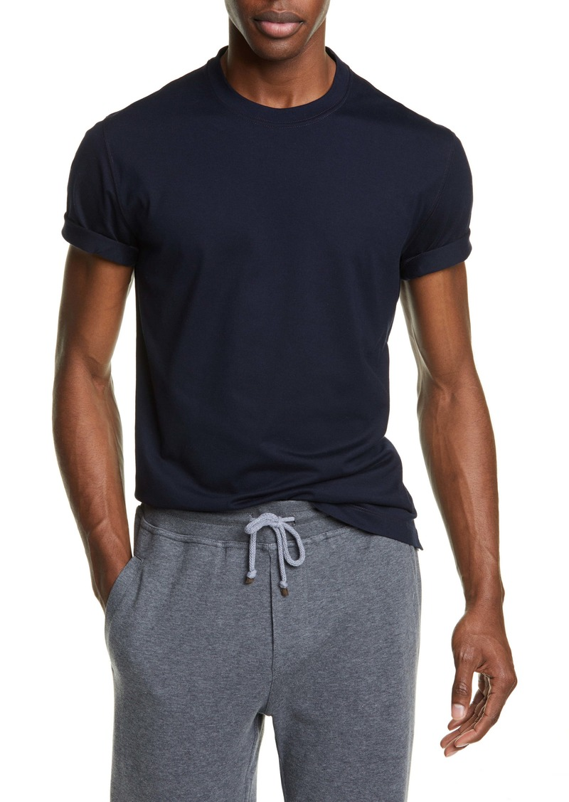 Brunello Cucinelli Cotton Crewneck T-Shirt