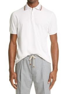 Brunello Cucinelli Cotton Jersey Polo