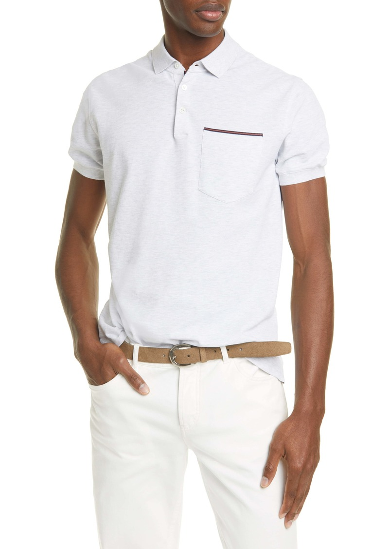 Brunello Cucinelli Cotton Polo Shirt