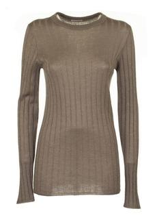 Brunello Cucinelli Crewneck Sweater Bronze