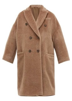Brunello Cucinelli Double-breasted wool-blend coat