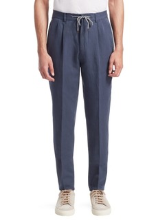 Brunello Cucinelli Drawstring Suit Trousers