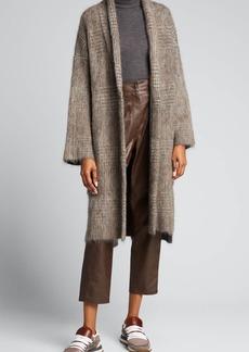 Brunello Cucinelli Fluid Leather Wide-Leg Pants