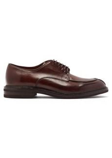 Brunello Cucinelli Grained-leather derby shoes
