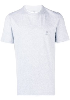 Brunello Cucinelli layered effect T-shirt