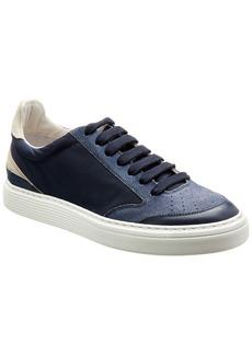 Brunello Cucinelli Leather & Suede Sneaker