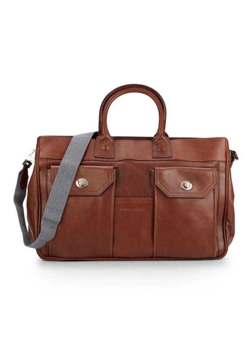 Brunello Cucinelli Leather Briefcase