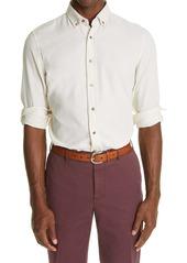 Brunello Cucinelli Leisure Fit Button-Down Corduroy Shirt