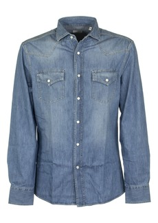 Brunello Cucinelli Light Blue Denim Shirt