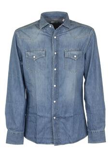 Brunello Cucinelli Light Blue Denim Shirt