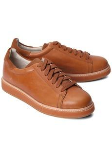Brunello Cucinelli Light Brown Leather Sneaker