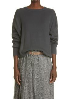 Brunello Cucinelli Lightweight Cotton Sweater
