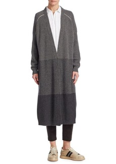 Brunello Cucinelli Long Cashmere Cardigan