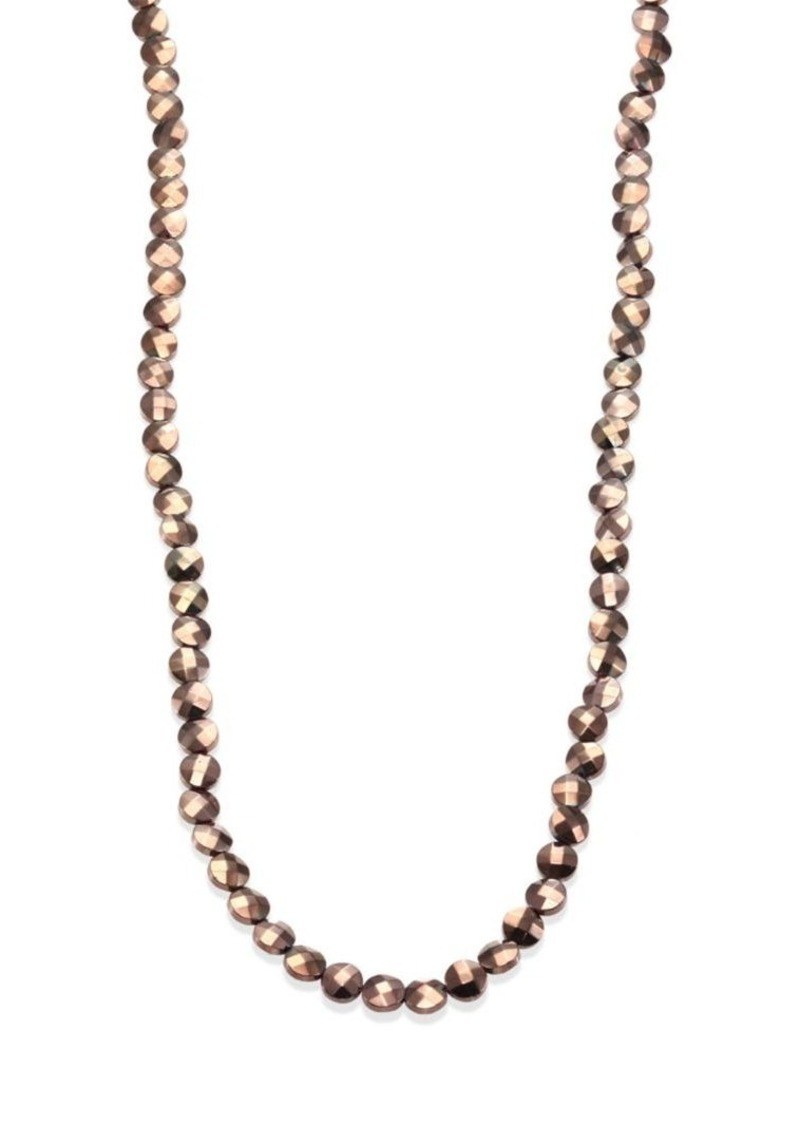 Brunello Cucinelli Long Ematite Necklace