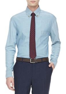 Brunello Cucinelli Long-Sleeve Button-Down Shirt