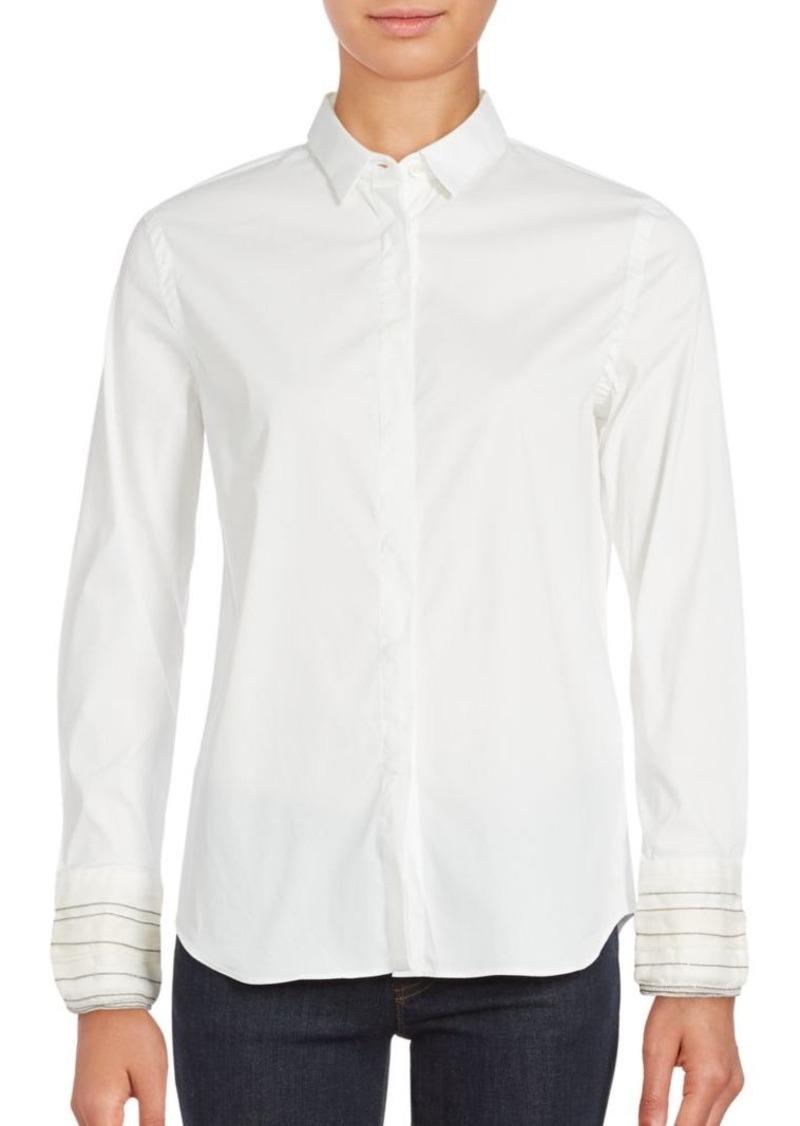 Brunello Cucinelli Long Sleeve Button-Down Shirt