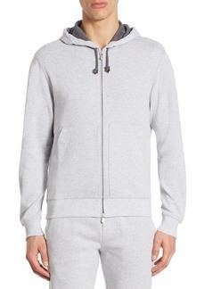 Brunello Cucinelli Long Sleeve Hooded Sweatshirt