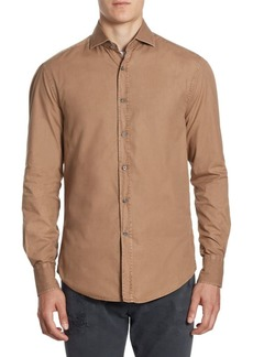 Brunello Cucinelli Slim-Fit Button-Down Shirt