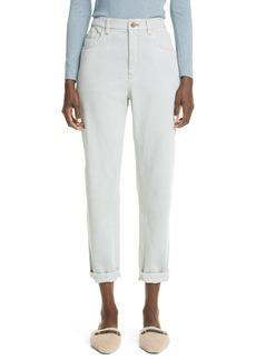 Brunello Cucinelli Loose Fit Cotton Stretch Denim Jeans