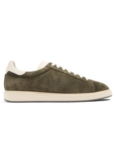 Brunello Cucinelli Low-top suede trainers