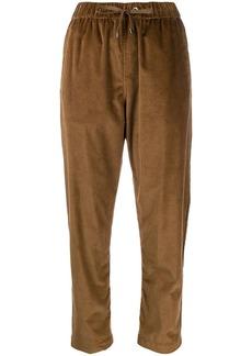Brunello Cucinelli drawstring corduroy trousers