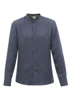 Brunello Cucinelli Stand-collar muslin shirt