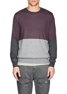 Brunello Cucinelli Men's Cashmere Colorblocked Sweater