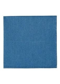 Brunello Cucinelli Men's Cotton Chambray Pocket Square