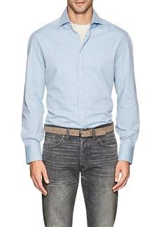 Brunello Cucinelli Men's Cotton Oxford Shirt