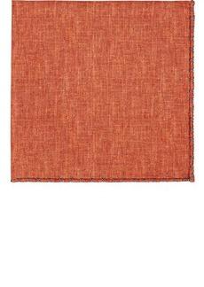 Brunello Cucinelli Men's Silk-Cotton Pocket Square