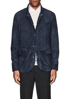 Brunello Cucinelli Men's Suede Jacket