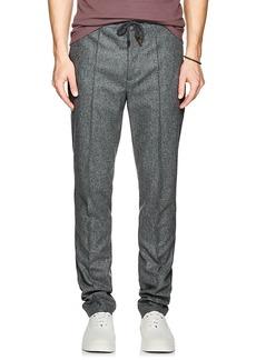 Brunello Cucinelli Men's Wool Flannel Trousers