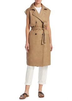Brunello Cucinelli Mid-Length Trench Vest