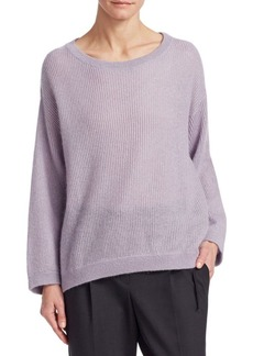 Brunello Cucinelli Mohair & Wool Knit Pullover